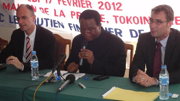 Lancement officiel de l'Agenda de la presse et de la communication édition 2012