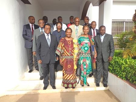 La HAAC rencontre une délégation de l'OIF
