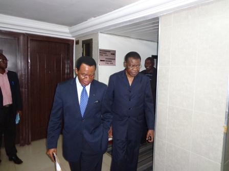 Arrivée de la délégation de la HAAC du Benin au Togo