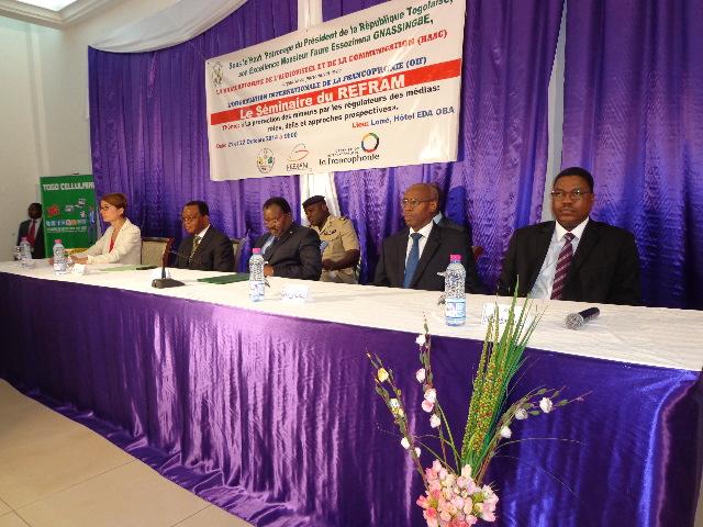 Séminaire du REFRAM à Lomé : les régulateurs des médias de l'espace francophone font chorus autour de la protection des mineurs