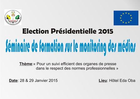 Préparatifs de l'élection présidentielle: le personnel de veille de la HAAC renforce ses capacités sur le monitoring des médias