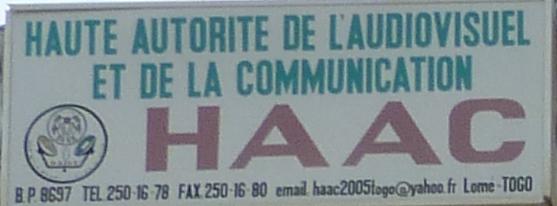 COMMUNIQUE DE LA HAAC