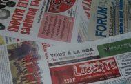 Revue de presse n° 712 du 13 septembre 2016