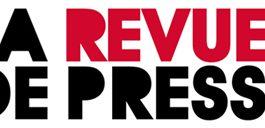 Revue de presse N° 844 du 31 mars 2017