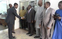 Nouvel an : le personnel de la HAAC a présenté ses vœux au président et aux membres