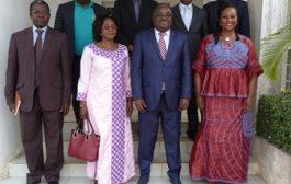 Régulation : la présidente du CSC Burkina en visite à la HAAC