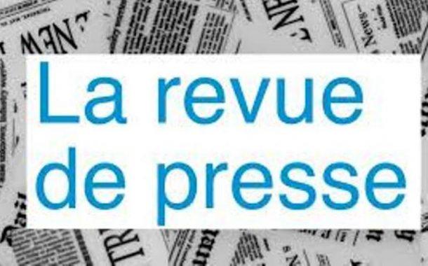 Revue de presse N° 1068 du 08 mai 2018