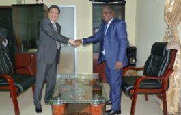 Renforcement du partenariat HAAC-Chine L'Ambassadeur Yuxi LIU reçu par le Président de la HAAC
