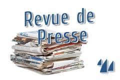 Revue de presse N° 953 du 15 septembre 2017