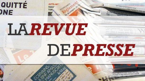 Revue de presse N° 877 du 22 mai 2017