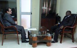 L'Ambassadeur d'Egypte au Togo en visite d'échanges à la HAAC