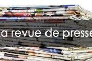 Revue de presse N° 1113 du 20 septembre 2018