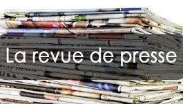 Revue de presse N°1017 du 15 janvier 2018