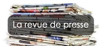 Revue de presse N° 1103 du 05 septembre 2018