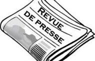 Revue de presse N° 1229 du 13 janvier 2020