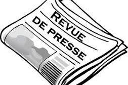 Revue de presse N° 1072 du 16 juillet 2018