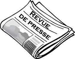 Revue de presse N° 1097 du 27 août 2018