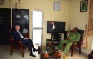 L'Ambassadeur d'Allemagne Matthias Veltin en visite à la HAAC