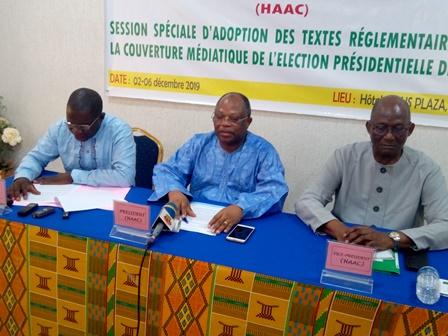 Election présidentielle de 2020 : la HAAC examine ses textes réglementaires pour un encadrement efficient des médias