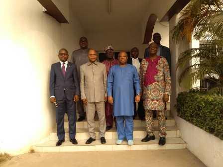 Présidentielle de 2020 : la HAAC s'est entretenue avec une délégation du Bureau des Nations Unies pour l'Afrique de l'Ouest et du Sahel
