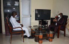 Le ministre de la communication en visite de prise de contact à la HAAC
