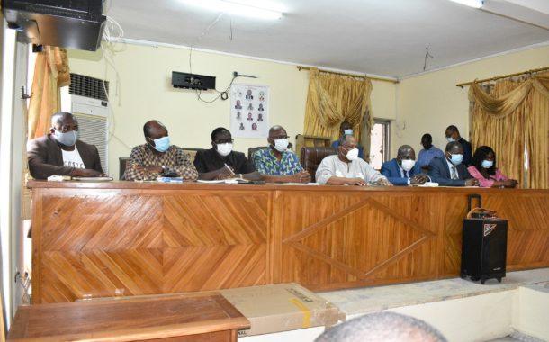 Le bureau exécutif de l'UJIT et du PPT présenté à la HAAC