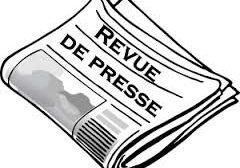 Revue de presse N° 780 du 22 décembre 2016