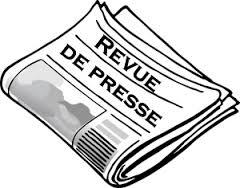 Revue de presse N° 805 du 31 janvier 2017