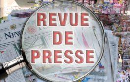 Revue de presse N° 900 du 27 juin 2017