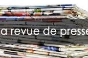 Revue de presse N° 1154 du 14 janvier 2019