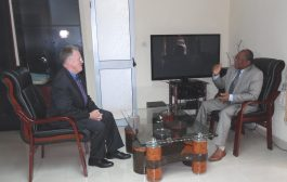 Partenariat : l'Ambassadeur des Etats-Unis au Togo en visite d'échanges à la HAAC