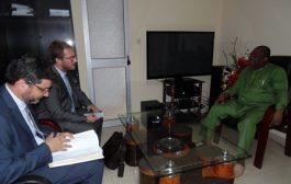 L'Attaché Audiovisuel de l'Ambassade de France explore les pistes d'une coopération sectorielle avec la HAAC