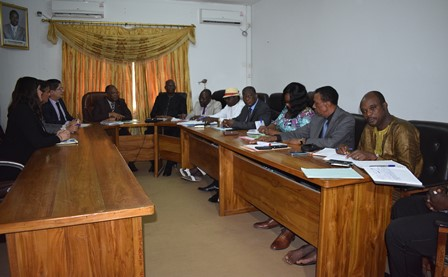 L'ambassadeur de France au Togo en visite à la HAAC