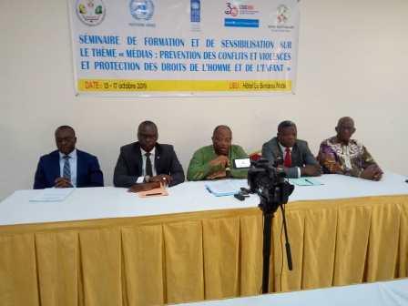 La HAAC et ses partenaires engagent les médias à promouvoir la paix et la protection des droits de l'homme et de l'enfant