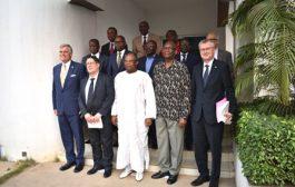 La HAAC échange avec les Ambassadeurs du G5