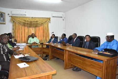Une délégation des observateurs de l'Union Africaine s'informe des activités de la HAAC dans le cadre de l'élection présidentielle de 2020